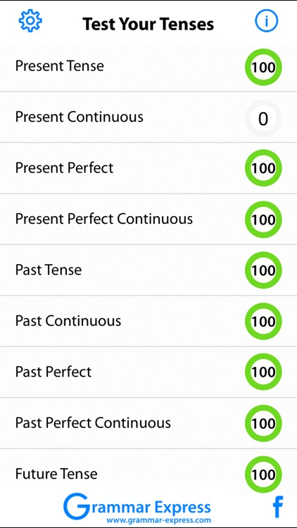 Test Your Tenses