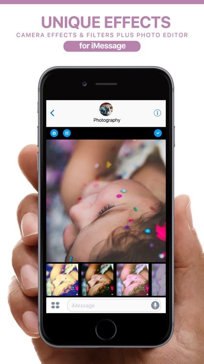 Analog Camera FX for iMessage screenshot-4