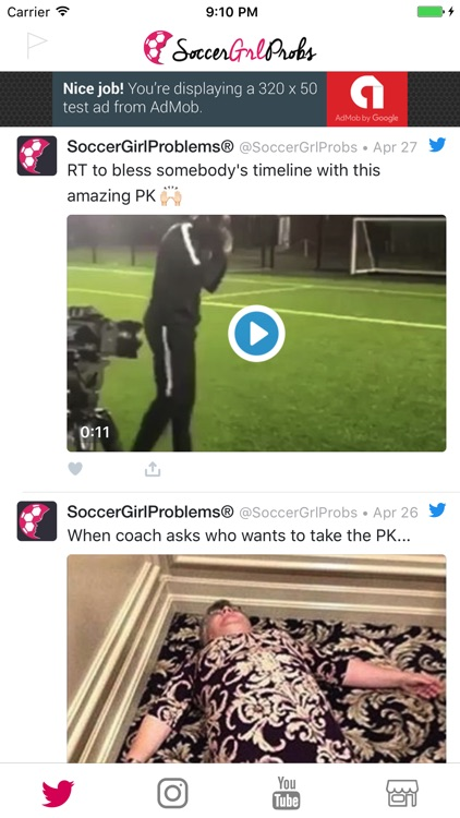 SoccerGrlProbs screenshot-1