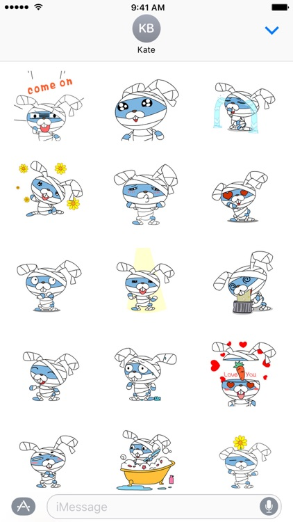 Daily life of Bluetoo - NHH Animated Stickers
