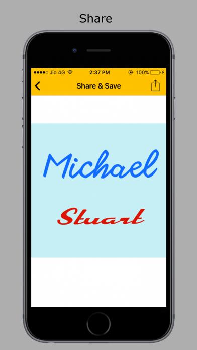 Name Art - Stylish screenshot 4