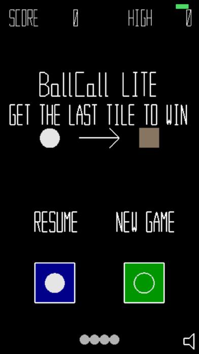 BallCall LITE screenshot one