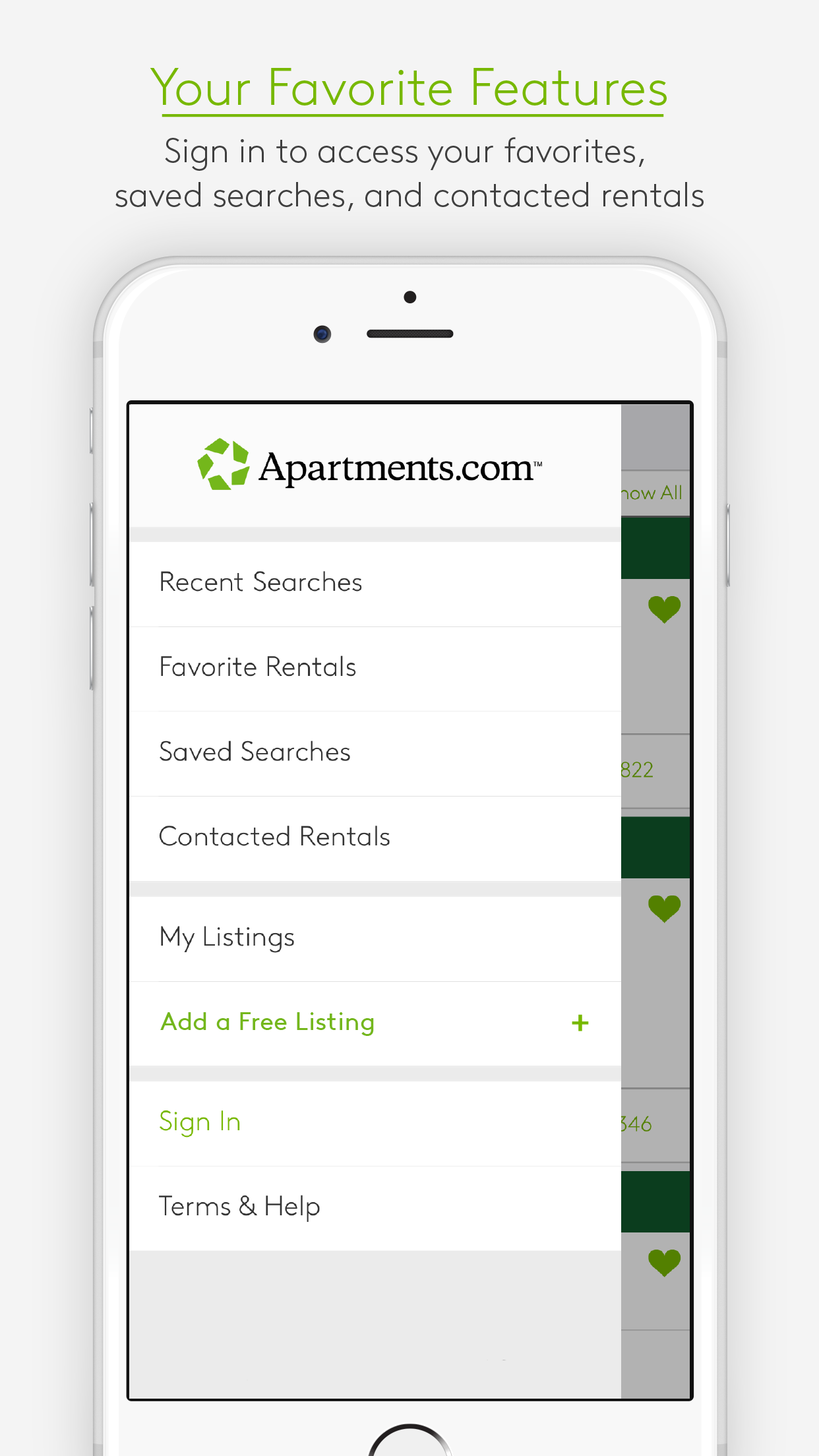 Apartments.com Rentals Screenshot