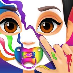 Baby Face Paint Salon Games