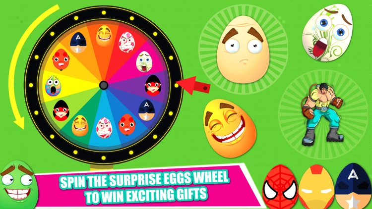 Surprise Eggs Factory - Spin Wheel of Surprise egg