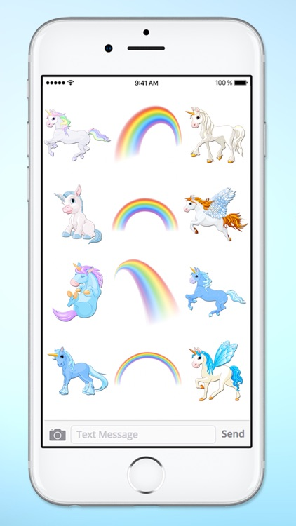 Unicorns and Rainbows Sticker Pack