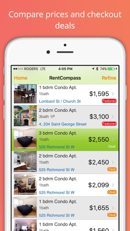 Apartment Rentals Search by Rent Compass