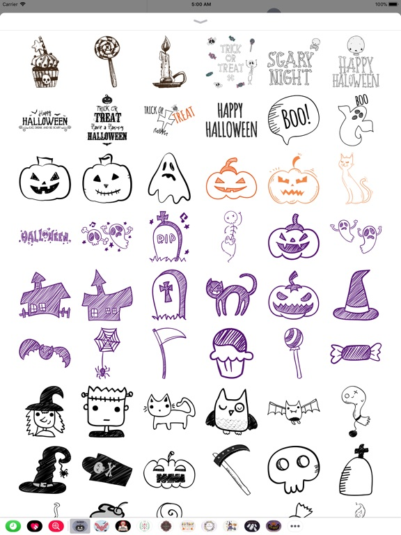 Halloween Sketch Elements screenshot 7