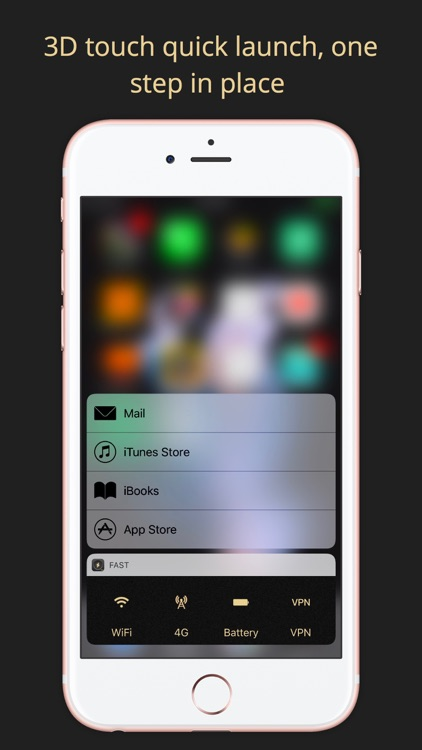 Quick Launch Pro - App launcher by 3D touch