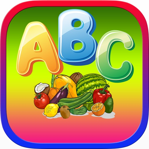 letter a learning abc words vegetables fruits alphabet by isoon 5905