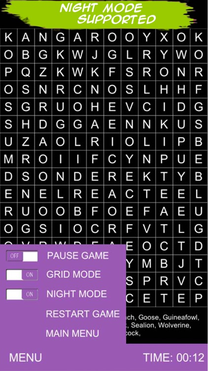 Word Search Puzzle 2017 screenshot-3