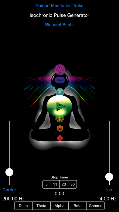 Top 10 Apps like Binaural Beats Chakra Meditation in 2019