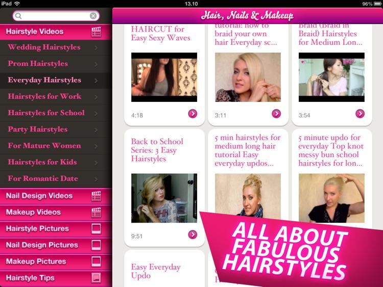 Hair, Nails and Makeup HD