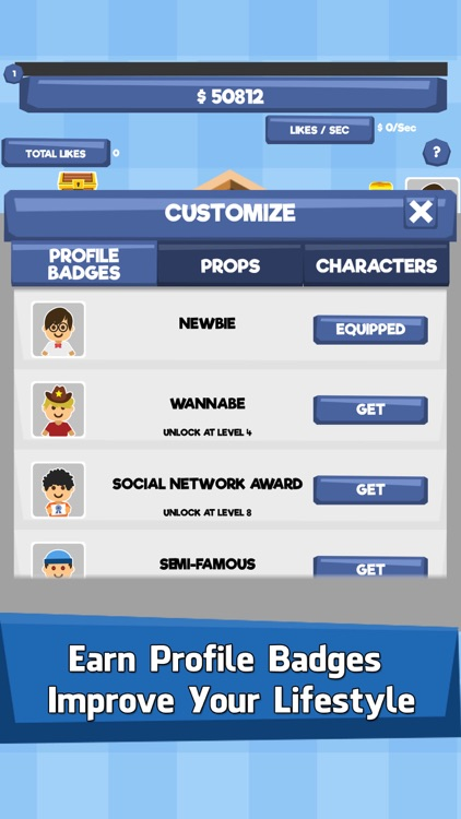 Social Tycoon - Idle Fun Clicker & Money Tap Games screenshot-4