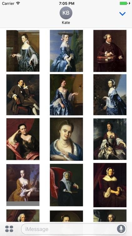 John Singleton Copley Artworks Stickers
