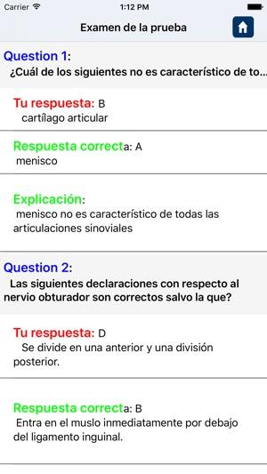 Preguntas sobre Anatomía en App Store