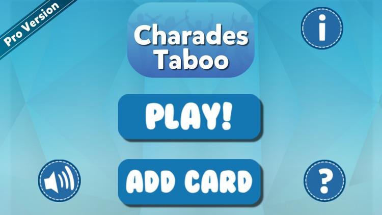 Charades Taboo Game screenshot-4