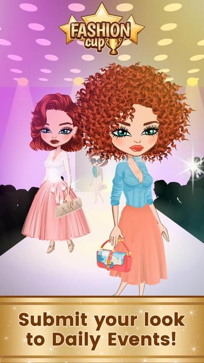 Fashion Cup - Dress up & Duel screenshot-3