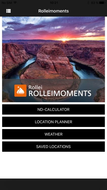 ROLLEIMOMENTS Fotografie-App