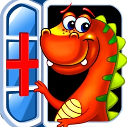 Dr. Dino -Doctor & Dentist games for boys girls