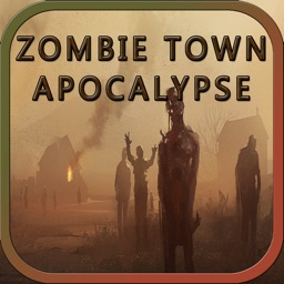 Car Driving Survival in Zombie Town Apocalypse
