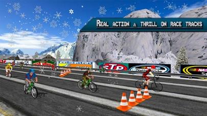 极端公路自行车赛车2017年 - 自行车赛3D App 截图