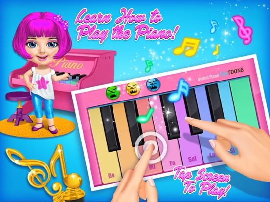 Sweet Baby Girl Pop Stars - No Ads screenshot 9