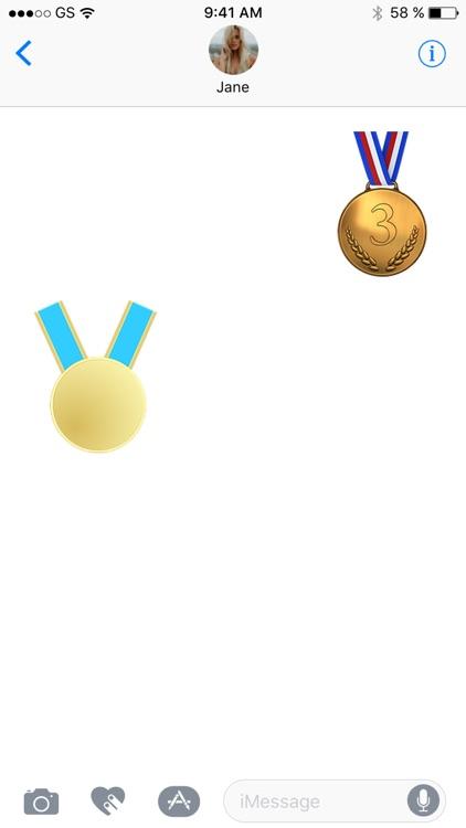 Medals Sticker Pack!