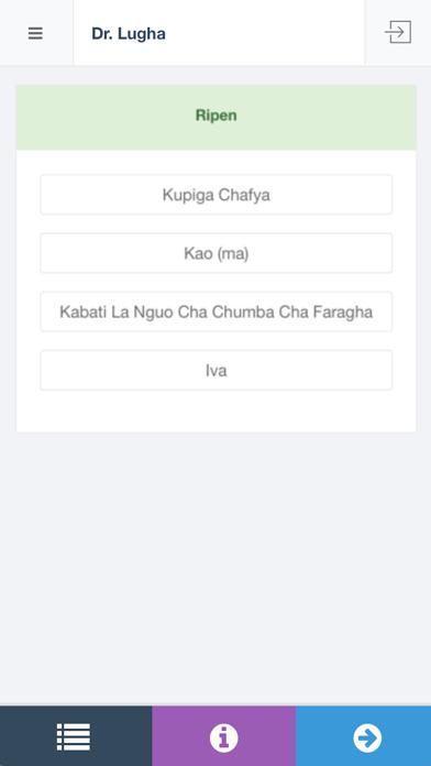 Dr Lugha African Language screenshot one