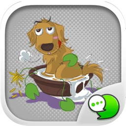 Dodimon V.1 Stickers & Emoji Keyboard By ChatStick