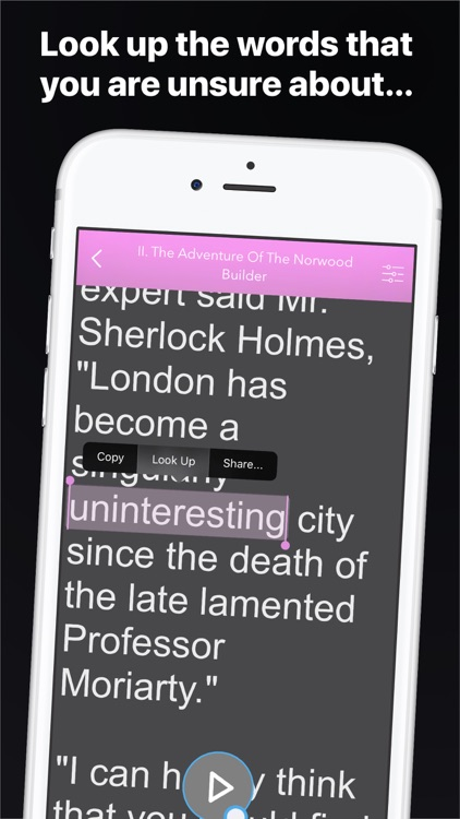 AudioBookPlus: The Return of Sherlock Holmes screenshot-3