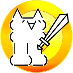 Tap cat RPG. Simple emoji cat idle game.