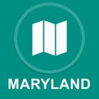 Maryland, EE.UU. : Desconectado de navegacion GPS icon