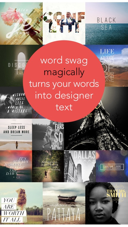 Word Swag - Cool fonts & typography generator app image