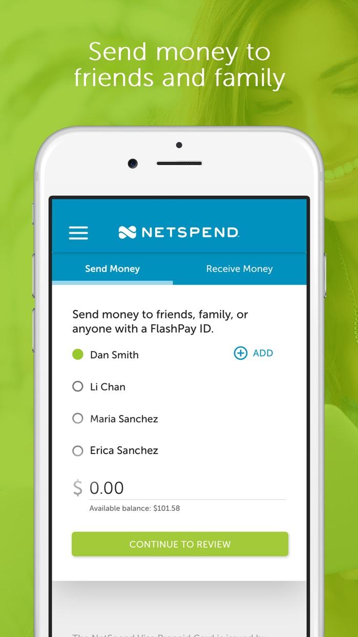 Netspend Prepaid Mobile Banking Screenshot