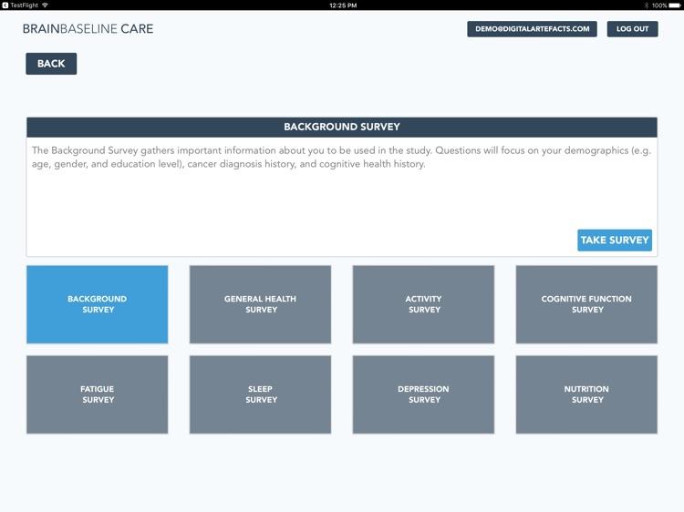 BrainBaseline CARE: Cancer & Brain Health Study screenshot-4