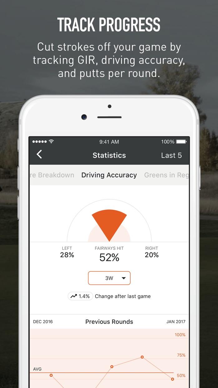 VPAR Golf GPS, Scoring & Stats Screenshot