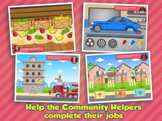 Community Helpers Play & Learn для iPad