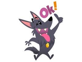 Cute Funny Dog Pet Comic Cartoon Stickers Pack