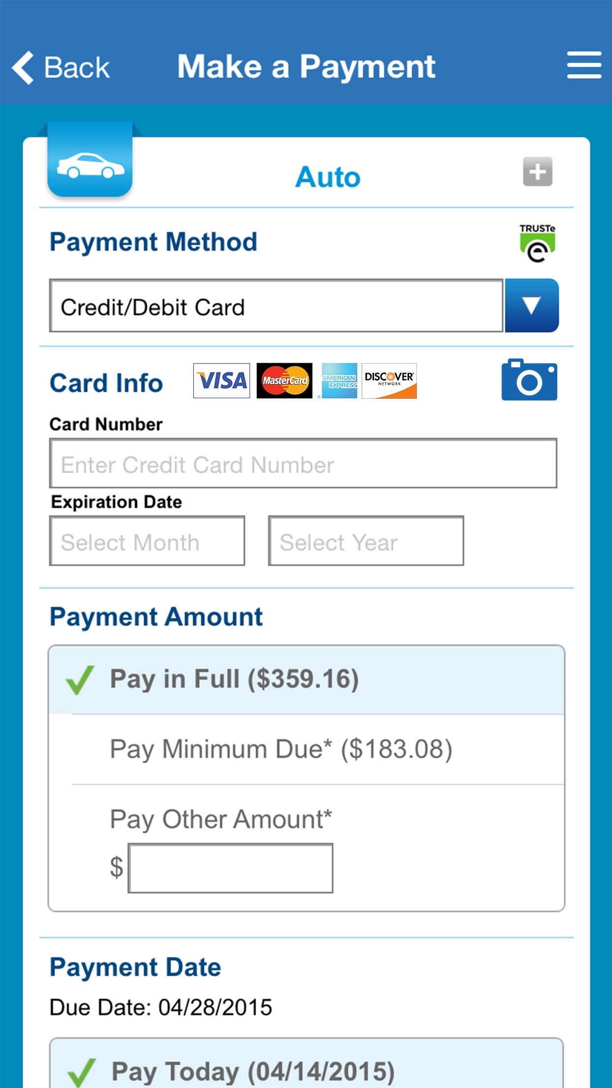 Allstate® Mobile Screenshot