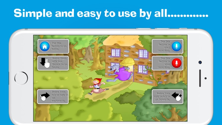 Little Red Riding Hood by Read & Record screenshot-3