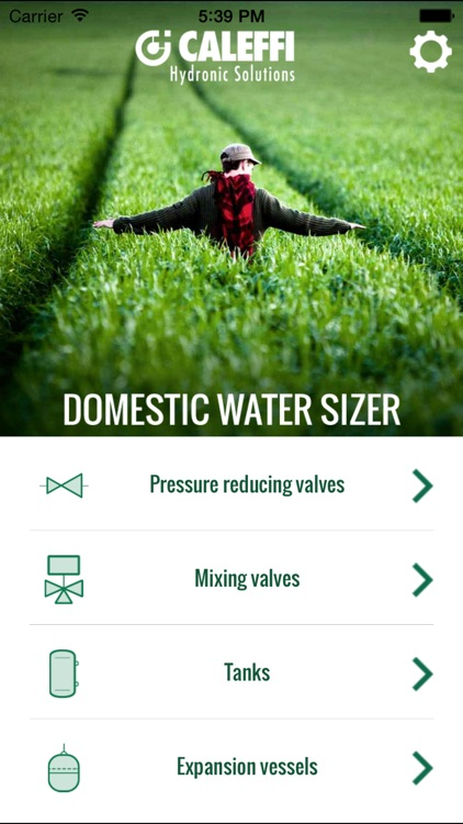 Domestic Water Sizer