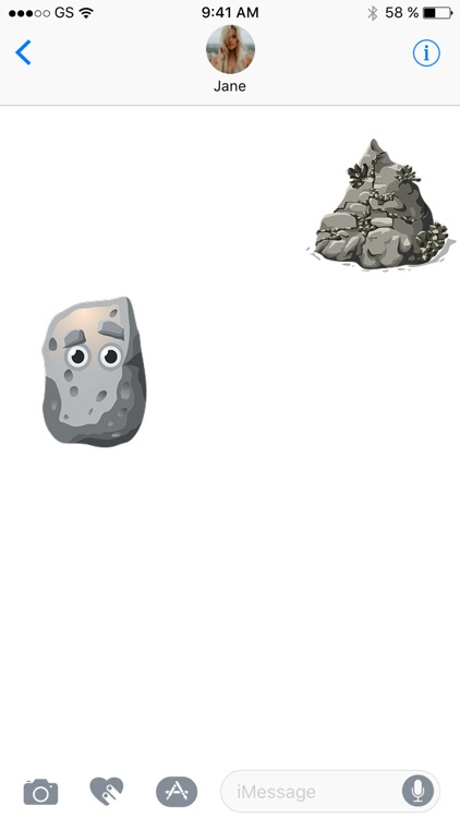 Rock Sticker Pack