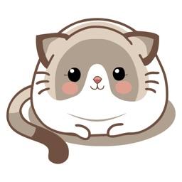 Dainty Cat Animated Emoji Stickers