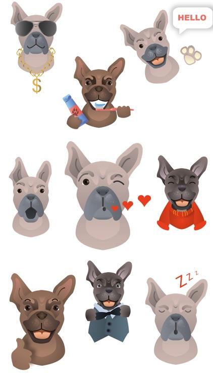 FrenchieMoji - French Bulldog Emojis
