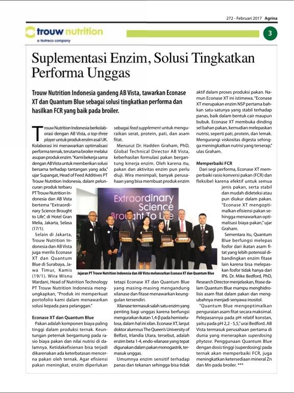 Agrina, Magzter Inc  — iPad Magazine