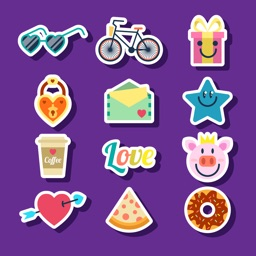 Assortment Colorful Stickers - TOP NEW 2017