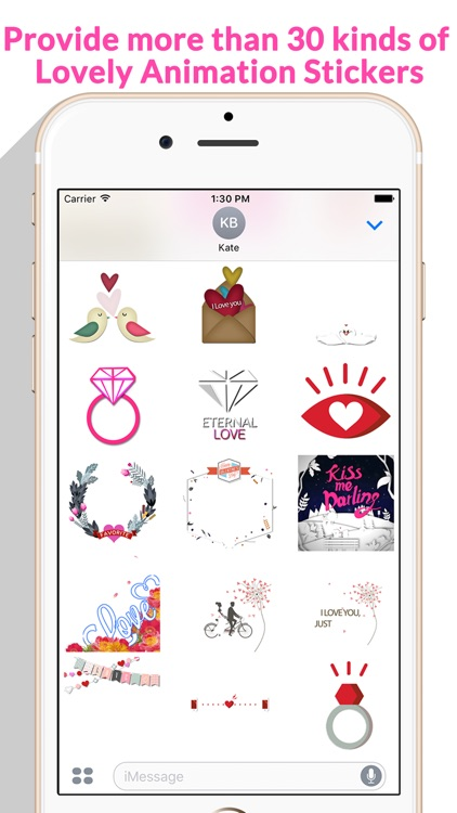 Lovely Animated Stickers screenshot-3