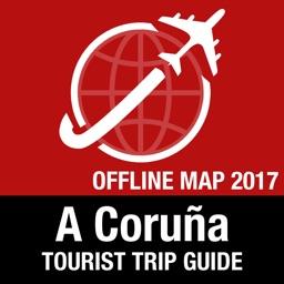 A Coruña Tourist Guide + Offline Map