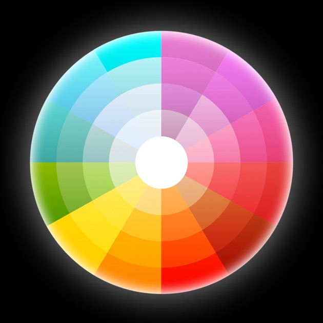 Fill The Color Wheel On The App Store